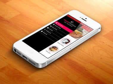 Food Parlour Cafe Restaurant UI Design
