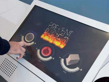 Fire prevention game for Siemens