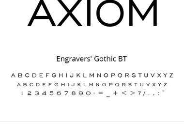 Axiom Logo Design