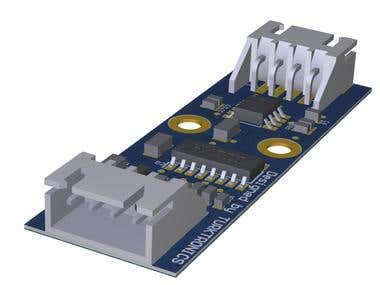 Weight Bridge PCB for Inudstrial Applications