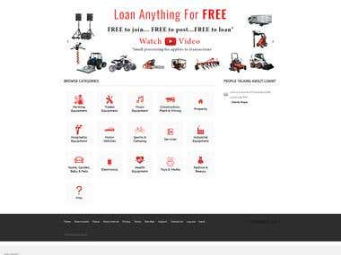 Wordpress loan site development using wp classified theme