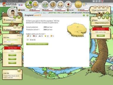 Gameing webportal