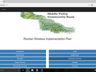 Implementation Plan Web
