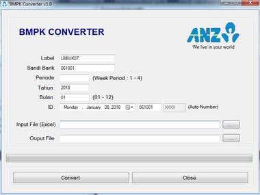 BMPK Converter Tools
