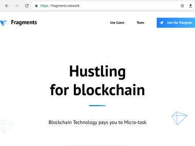 Hustling for blockchain