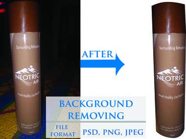 Product Background Removing & Editing