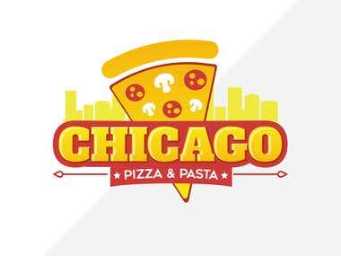 Logo pensada e criada exclusivamente para a marca : Chicago