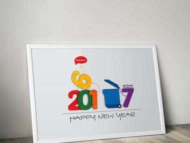 New Year Design 2017