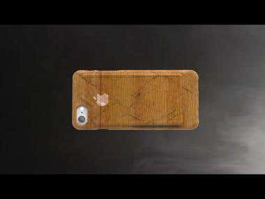 iPHONE CASE design and rendering