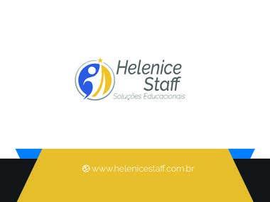Capa para Facebook + Cartão de Visitas - Helenice Staff