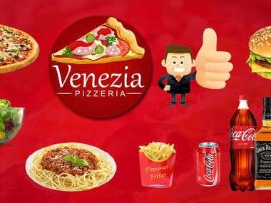 Venezia Pizzeria (Android & IOS)