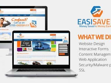 EasiSaver Website