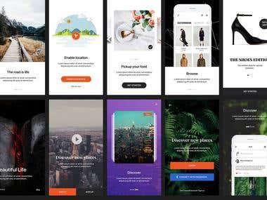 Zara Mobile Application