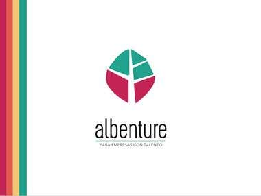 Design and creation of a logo for Albenture