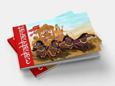 Mahabharat book cover