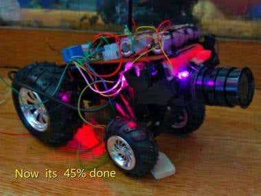 Home Made robot