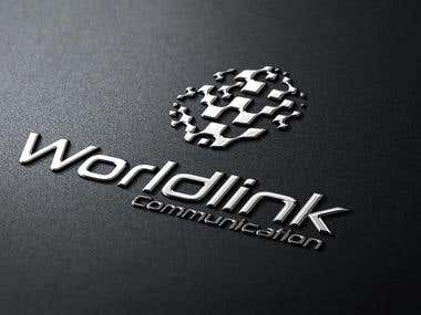 World Link Communication (Logo Design)