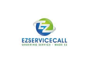 EZ service call Logo designing