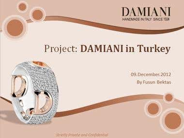 Damiani PPT template