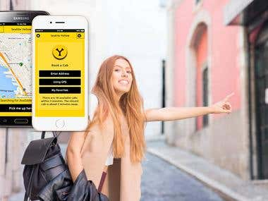 Taxi App & Backend