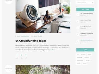 Fresco Blog WordPress