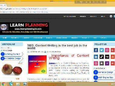 SEO Friendly Web Content Writing