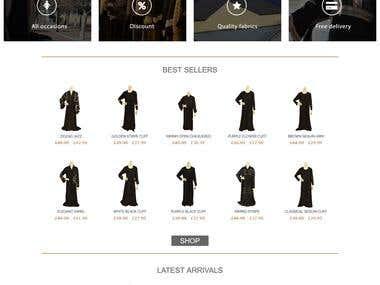 sheba clothing Online store