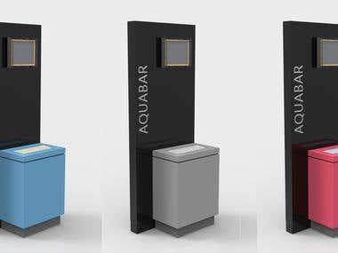 Kiosk Stand Design
