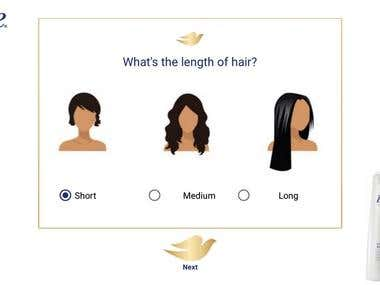 Dove - Marketing Application