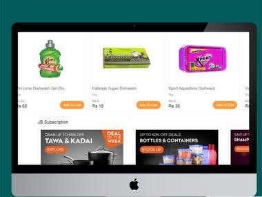 online store: Janathabasket