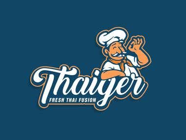 Thaiger Logo design