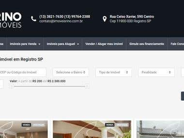 Property listing website