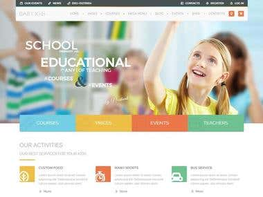 I will design Professional Education Website