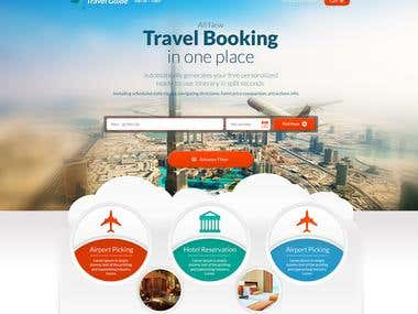 I will design Professional Travel Agency Website
