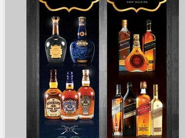 liquor banner
