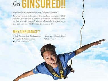 GINSURANCE PRINT AD
