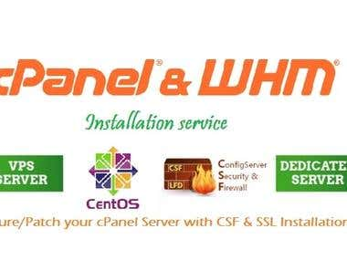 Dedicated support for cpanel/ WHM