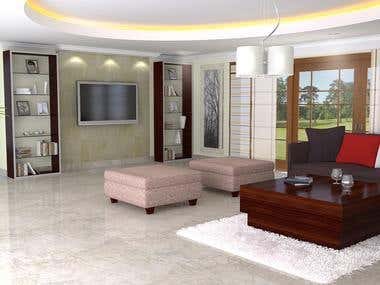 3D Modelling Interior