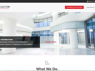Lighting industry manufacture website