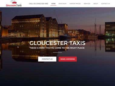 Taxi Booking Website