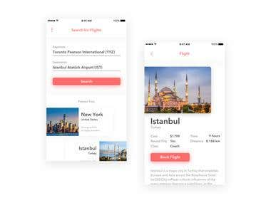 Flight Search App (Design)
