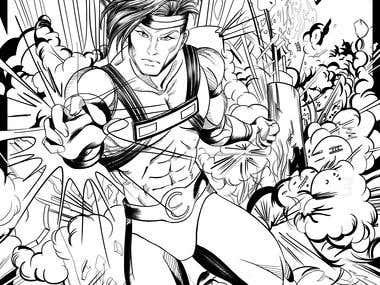Inked Comics