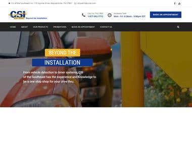 CCtv Security business website