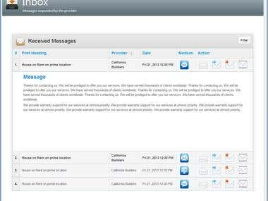 Classifieds Web Application
