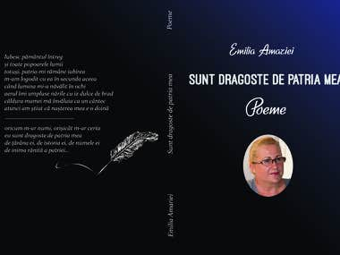 Poetry book cover design