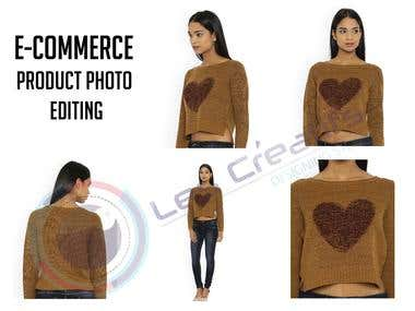 Clipping path and back ground removal for eCommerce product