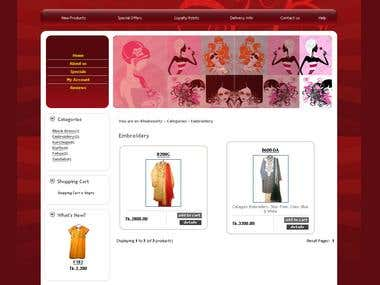Official website for Khubsoorty Fashion