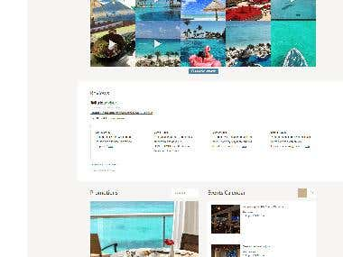 Coral, WordPress Custom Theme