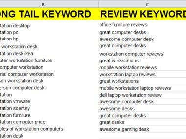 I Will Do You For Best Amazon Affiliate Keyword Research