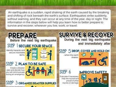 Earthquake Preparedness Poster